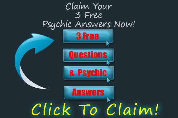 3 free psychic answers - click to claim