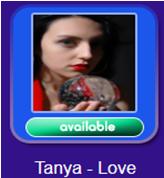 Psychic Tanya -'Love' Psychic Reader