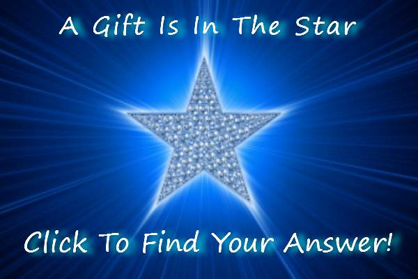 your gift is in the star - click to claim it