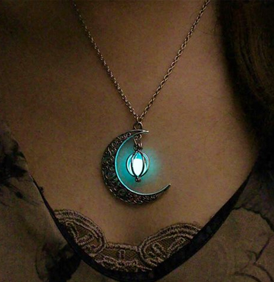 Mystical Glow In The Dark Necklace